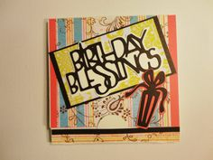 Handmade Birthday Card by KLKDesignsLLC on Etsy