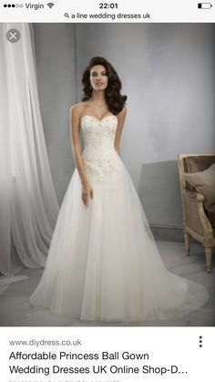 598c61e884 A-Line Lace Wedding Dress Organza Bridal Gown Custom Size 4 6 8 10 12 14 16
