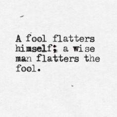 A fool on a hill …
