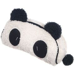 Kobwa(TM) White Cute Soft Plush Panda Pencil Phone Card Case Cosmetic Makeup Bag Pouch Purse With Kobwa's Keyring
