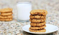Secret Peanut Butter Cookies  #vegan