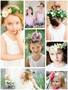 Lovely Flower Girl Headpieces - Mon Cheri Bridals