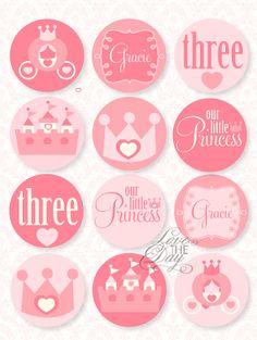 Pinkalicious Princess Birthday PRINTABLE Party by lovetheday, $12.00