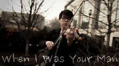 Bruno Mars - When I Was Your Man - Jun Sung Ahn Violin Cover (+playlist)