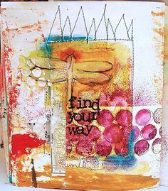 . #journal art journal #art by eileen