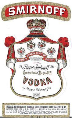 Autres Collections - Etiquettes de Vodka - DroledeBx