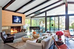 Singer John Legend and Christine Teigen's Hollywood Hills home, which was decorated by Don Stewart.