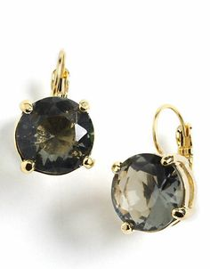 Crystal Lever-Back Earrings | Lord and Taylor