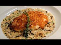 Peito de frango crocante com creme de shitake, de Claude Troisgros - Receitas - Receitas GNT