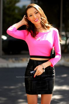 Forever 21 top and skirt