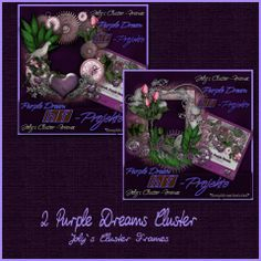 PU 2 Purple Dreams Cluster by Joly