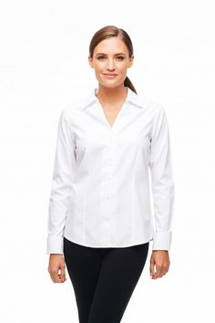 baeafdb8 White Shirt Shop | White Shirts For Women | Non-Iron White Shirts & Blouses