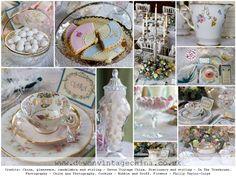 Glam Inspiration  Devon Vintage China