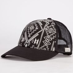 BILLABONG Same Spark Womens Trucker Hat - BLACK - JAHT6SAM 5cc251801e4d