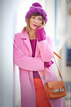 stylish-and-chic-outfit-for-winter-with-pink-coat