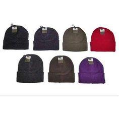 $122.29 Eros Hosiery 6019-10 Adult Knit Hats Case Of 120