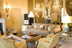 The Ritz Paris Hotel, Coco Chanel suite where she lived for roughly 35 years.