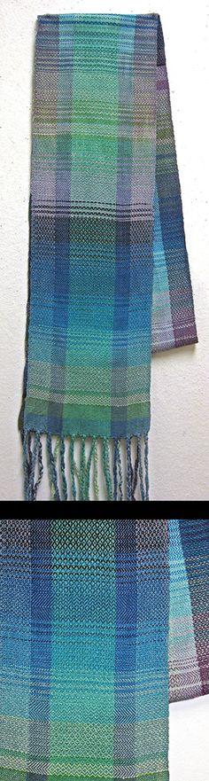 Lisa's beautiful scarf; it just glows