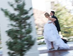 Wedding photography ideas. Bride & groom running. Photography by Craig Wolford.