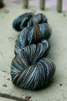 I want to get my fingers all up in it! This is nourishment for my hands. - Allspunup merino silk by Sourcherries