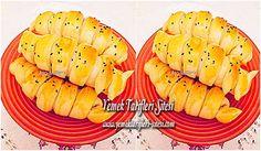 Sodalı Pofuduk Poğaça Tarifi Yummy Cakes, Sushi, Pineapple, Ethnic Recipes, Food, Pine Apple, Essen, Meals, Yemek