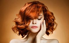 "Love this bright ""orange is the new red"" hair color. Huge fan of the 2014 hair color trends. Hair Color Trends We're Loving Right Now - The Style Glossy Which Hair Colour, Cool Hair Color, Square Face Hairstyles, Cool Hairstyles, Hairstyle Ideas, Redhead Hairstyles, Hairstyles 2016, Beautiful Hairstyles, Medium Hairstyles"