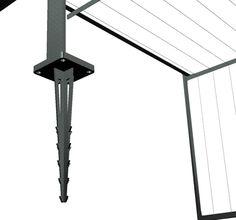 zirkumflex die pergola mit rankger st aus metall n hen pinte. Black Bedroom Furniture Sets. Home Design Ideas