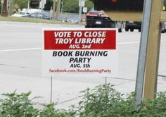 Brilliant Leo Burnett ad campaign:  The Book-Burning Campaign That Saved a Public Library