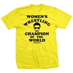 Women's Wrestling Champ Joey Ryan, Champions Of The World, Champs, Wrestling, Mens Tops, T Shirt, Women, Lucha Libre, Supreme T Shirt