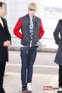 Choi Jun Hong ( Zelo) B.A.P Height: 184 cm