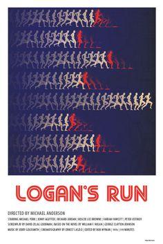 "Pithy poster for ""Logan's Run"" by Matt Dupuis"