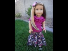 Maxi Skirt Tutorial for American Girl Dolls