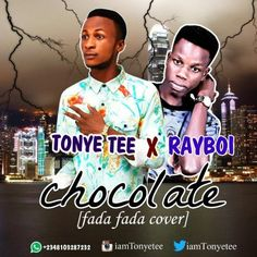 TonyeTee is from the south South Nigeria and his on this chocolate the love Version of phyno fada fada song with one of the hottest signed artist
