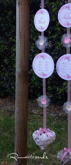 Tableau per Matrimonio Romanticards, by Romanticards e Little Rose Handmade, 8,50 € su misshobby.com