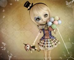 My beautiful circus doll <3