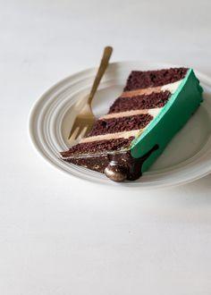 Mocha Rum Cake - Style Sweet CA