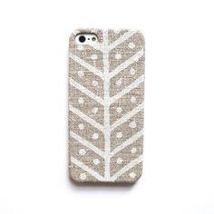 <3   Linen iphone case, Herringbone iPhone case