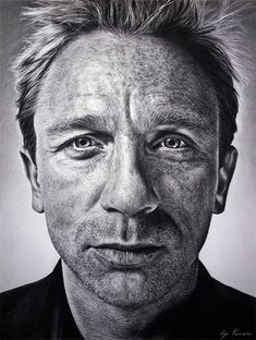 Photorealistic Drawings by Franco Clun | Realistic Celebrity Pencil Drawings by Natasha Kinaru | Inspiration ...