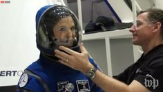 Starliner Space Suit – a modified Boeing Blue version of ACES – revealed | NASASpaceFlight.com