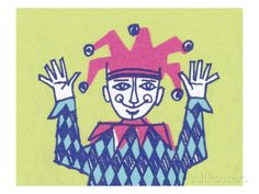 Court Jester Posters by Pop Ink - CSA Images at AllPosters.com
