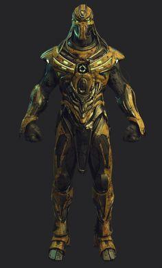 ArtStation - Cyrax vs Sektor (Mortal Kombat Fan Art) , Amghar Mahmoud