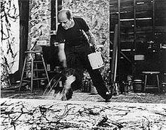 Jackson Pollock art.