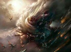 Buri foi o primeiro Deus á existir, e o terceiro ser á existir no universo...