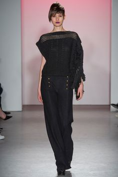 Nanette Lepore - Fall 2015 Ready-to-Wear - Look 9 of 24