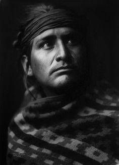 Navajo Chief, E.S. Curtis