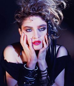 Madonna by George Holz Madonna Live, Madonna Music, Madonna 80s, Monica Lewinsky, 80s Eye Makeup, Halloween Face Makeup, Nicolas Cage, Jack Nicholson, Anne Hathaway