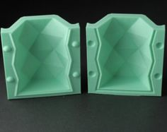 Teardrop Dodecahedron Silicone Mold Reusable Molds by BoldPrints
