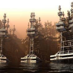 Sinking City by HalTenny on deviantART