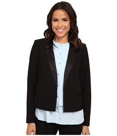 Calvin Klein Calvin Klein  Satin Detail Jacket Womens Jacket for 84.99 at Im in! #sale #fashion #I'mIn