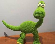 Znalezione obrazy dla zapytania dinosaurio ganchillo